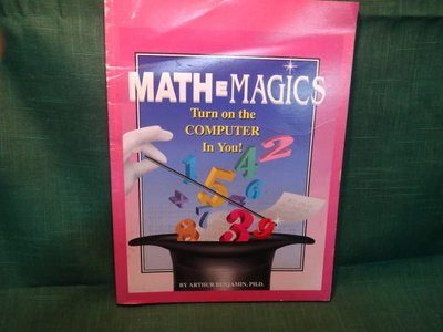 【愛悅二手書坊 18-34】MATHE MAGICS Turn on the COMPUTER In You!