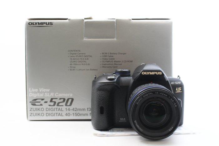 【台南橙市3C】OLYMPUS E-520 E520 1000萬畫素+14-42mm 單鏡組 4/3系統 #24523