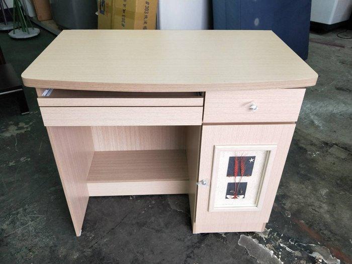 非凡二手家具 全新 幸運草3尺電腦桌*書桌*辦公桌*寫字桌*木桌*會計桌*洽談桌*工作桌*事務桌