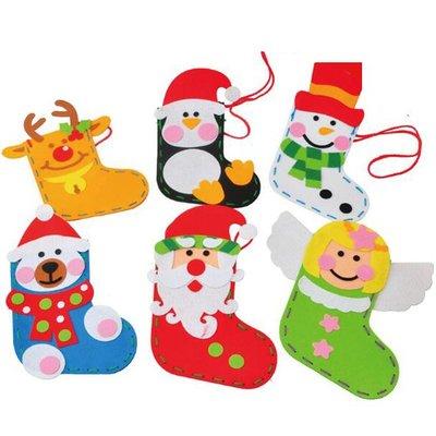 第二代聖誕節DIY紅帽子聖誕襪 禮物袋...