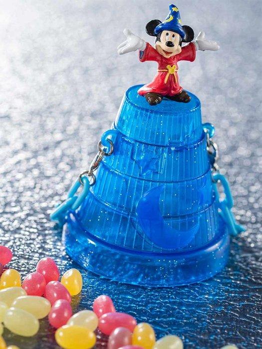 ☆Juicy☆日本 海洋迪士尼 DISNEY 聖誕節 米奇 魔法師 糖果罐 糖果盒 公仔 擺飾 收納罐 現貨