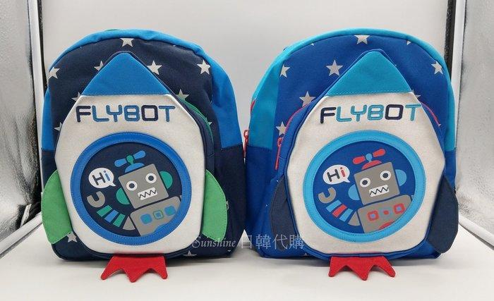 現貨+預購 韓國正品 WingHouse FLYBOT 火箭 機器人 防走失包 兒童背包 Wing House