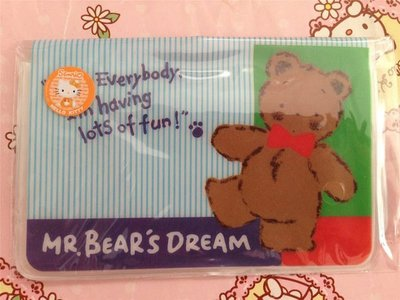 Sanrio Mr Bears Dream 對摺 八達通套 卡套 名片套 Fold SIM卡 Octopus Name Card Holder 2014
