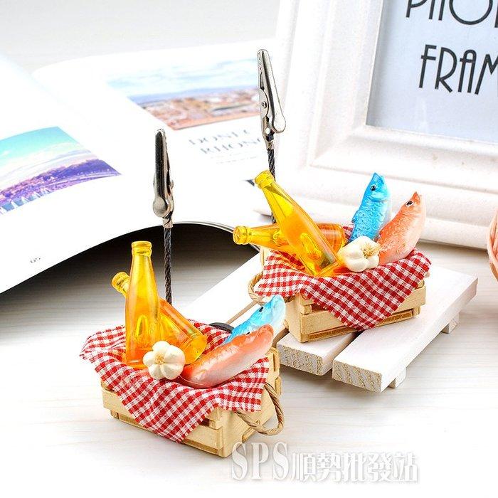 【順勢小站】仿真模型 魚木箱磁鐵名片夾 台灣製造 MIT專利 外銷歐美 冰箱貼 白板貼