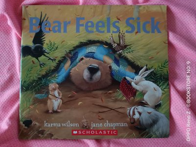 *NO.9 九號書店* Bear Feels Sick 英文繪本SCHOLASTIC