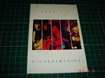 早期日本藝人團體卡片《WINNERS & LOSERS》2004 一張 有黃斑 【CS超聖文化讚】