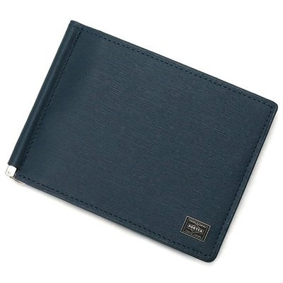 『小胖吉田包』藍色預購 日標 PORTER CURRENT 短夾 卡夾 鈔票夾 ◎052-02215◎免運!