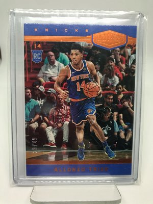 Allonzo Trier 2018-19 Chronicles Rc Plates & Patches /49 吹耳 新人卡 限量49張