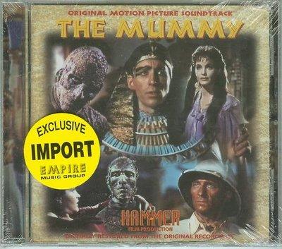 """[原聲帶-M]-""""神鬼傳奇-1959(The Mummy)""""- Franz Reizenstein,全新英版(38)"""