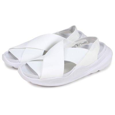 =CodE= NIKE WMNS PRAKTISK 繃帶涼鞋(全白) AO2722-100 拖鞋 羅馬 鋸齒 武士 女男