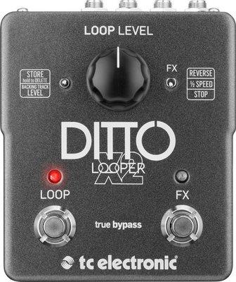 ☆ 唐尼樂器︵☆ TC Electronic Ditto X2 Looper 單顆 效果器