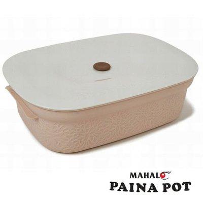 【Apple 艾波好物.選物】PAINA POT 野餐盒/便當盒 /點心盒/水果盒/保鮮盒 4.3L 粉