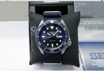 SEIKO腕錶全新日本原廠正品精工手錶(SRPD51K2) 5 SPORTS系列 男4R36 藍水鬼 機械錶 潛水錶/43mm