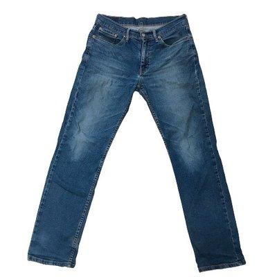 一元起標 現貨 正品 二手 Levis  Levis 514牛仔褲 深藍彈性窄管牛仔褲 W31 L32 原價$2480