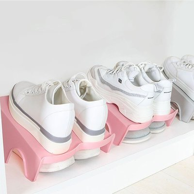 ☜shop go☞簡約雙層鞋架 簡易 ...