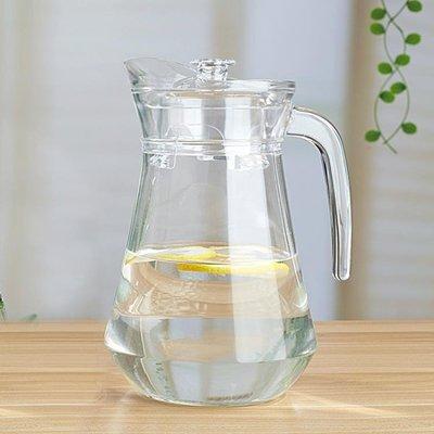 涼水壺玻璃耐熱涼水杯涼白開水壺冷水壺家用果汁扎壺大容量鴨嘴壺 全館免運
