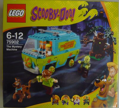 LEGO Scooby Doo 75902 The Mystery Machine (全新 絕版 未開 MISB 與 75903 75904 75900 共融)