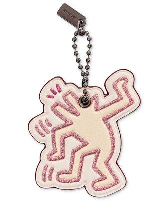 Coco小舖Coco小舖COACH 28599 Keith Haring Dancing Dog Hangtag 吊飾