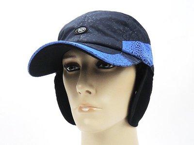 ☆二鹿帽飾☆ 老K/ 防風防水男女護頸棒球帽 /輕柔保暖輕便型/深藍色-台灣製