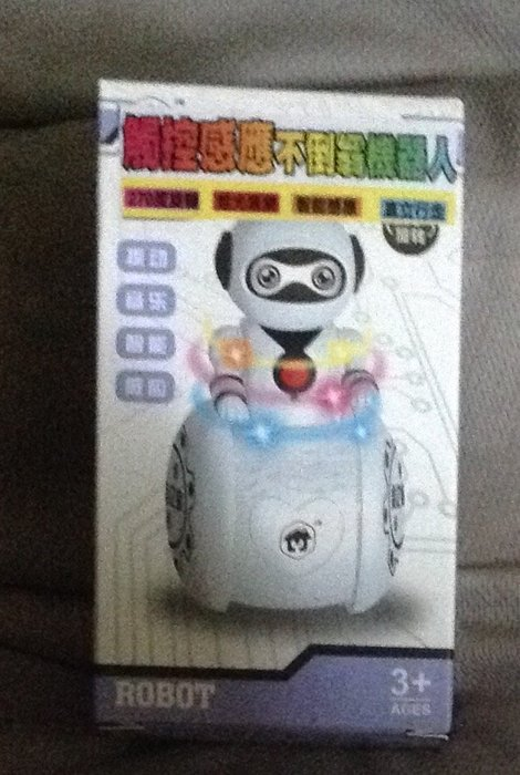 全新觸控感應不倒翁機器人Robot