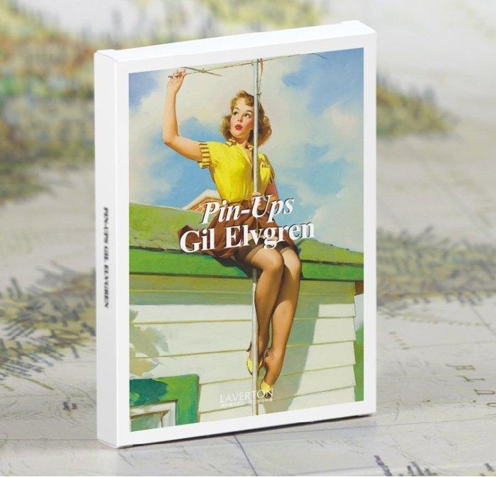 【貼貼屋】 Gil Elvgren大師 美國 復古 懷舊 性感女郎 系列 插畫/明信片/1套30張