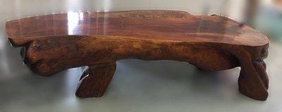 樂居二手家具生活館(中) 台中全新中古傢俱買賣 LG111250*原木泡茶桌* 原木家具 樟木家具 花梨木家具 檜木家具