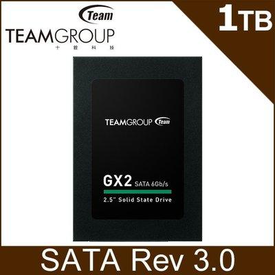 (含稅附發票)Team十銓GX2 1T 1TB SSD讀530/寫480產地台灣(非960G 960GB ADATA)