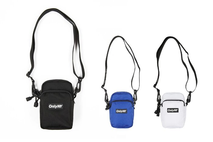 { POISON } ONLY NY BOX LOGO COMPACT CAMERA BAG 側背包 隨身小包