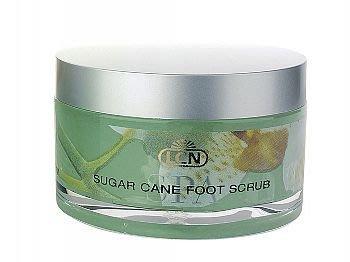 德國原裝進口LCN 水療足部療理系列蔗糖足部磨砂霜 100ml  Sugar Cane Foot Scrub