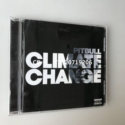 PITBULL - Climate Change 嘻哈斗牛犬 可車載CD 全新盒裝