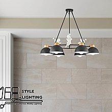 【168 Lighting】歡欣喜悅《木藝吊燈》(兩款)6燈GD 20240-1