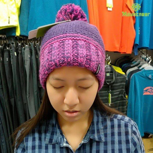 山林 MOUNTNEER 中性保暖針織毛線帽 內刷毛 保暖帽 戶外休閒 出國旅遊 12H63-92 喜樂屋戶外休閒