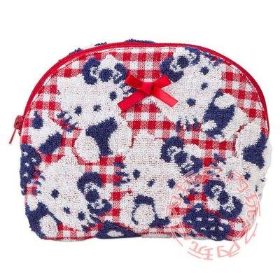 現貨出清特價👍KITTY立體織花化妝包 收納包388105【玩之內】日本進口 三麗鷗正品