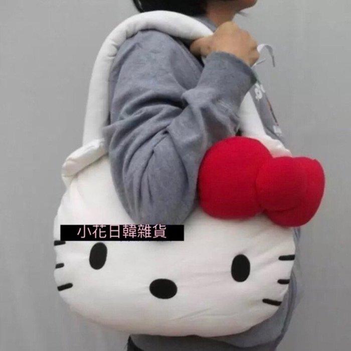 ♥ 小花日韓雜貨 ♥ --可愛宇津木 Mercibeaucoup kitty 大蝴蝶結空氣包棉包