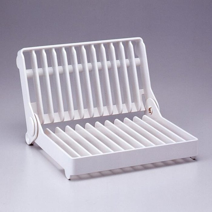 【免運】日本KM碗架 碟架 碗盤瀝水架 廚房多功能折疊~『金色年華』
