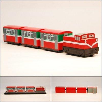 【喵喵模型坊】TOUCH RAIL 鐵支路 Q版 阿里山祝山線小列車 ( QV020T2)