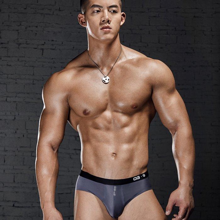 【OTOKO Men's Boutique】MOEA墨立方:透氣運動三角內褲/灰色(台灣獨家代理)