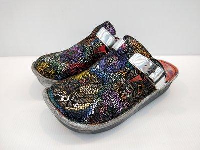 ║阿貴鞋麗屋║ Macanna 麥坎納專櫃~ 鬱金香系列~特殊炫彩花毯~手作鞋面氣墊鞋0337
