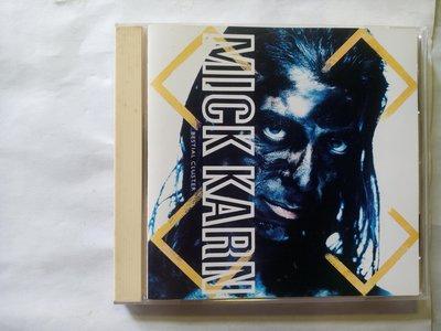 JAPAN樂團貝斯手 2011年過世的Mick Karn 1993個人專輯Bestial Cluster