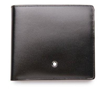 萬寶龍 MONTBLANC 型號:7164 四卡零錢皮夾(代購)