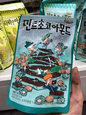 韓國 Tom's Gilim 杏仁果 蜂蜜奶油 芥末 海苔 腰果 綜合堅果 玉米 黑糖奶茶 火辣雞 新口味 薄荷 巧克力