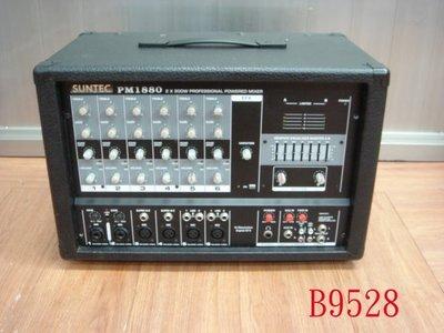 【全冠】二手SUNTEC PM1880 600W 攻放混音器 調音台 混音擴大機 功率擴大機 (B9528)