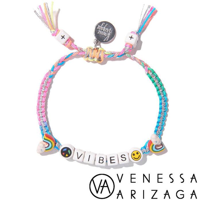 Venessa Arizaga VIBES BRACELET (SILVER RAINBOW) 笑臉彩色手鍊