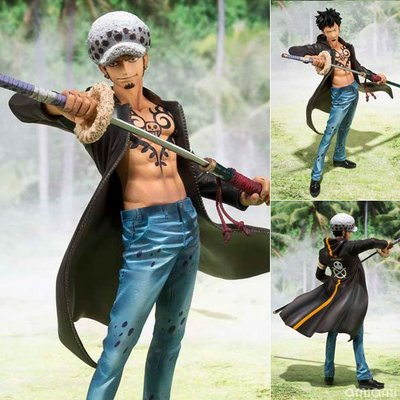 (figurejp) 海賊王Figuarts ZERO模型-德雷斯羅薩篇 托拉法爾加 羅 小熊金證日初版 Bandai