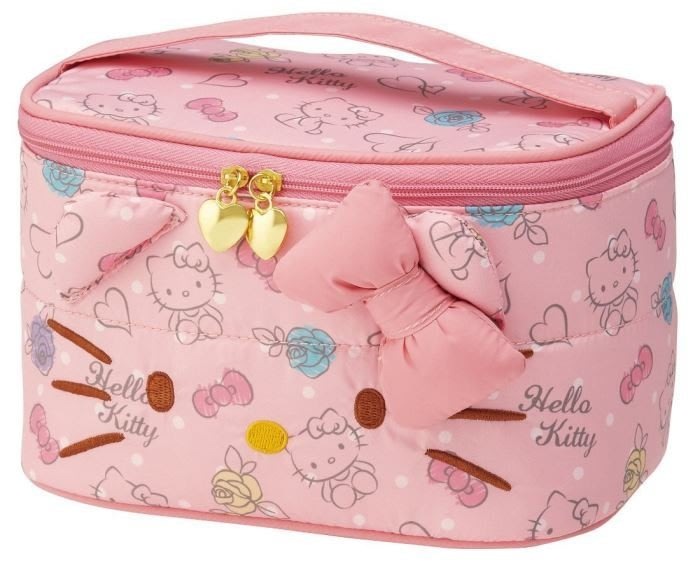 HELLO KITTY 手提 化妝包 造型可愛 小日尼三 日本帶回 有現貨 免運費 Gift41