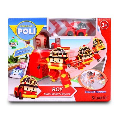 玳玳的玩具店 羅伊迷你基地/ Roy Mini Pocket Playset/ 波力 / 救援小英雄