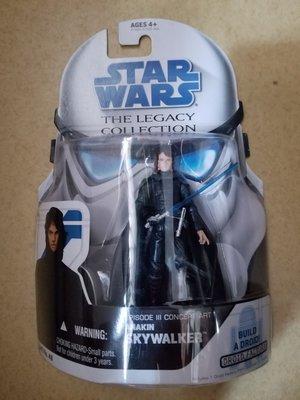 全新 罕有 Star Wars The Legacy Collection Anakin skywalker Concept Art  3.75吋