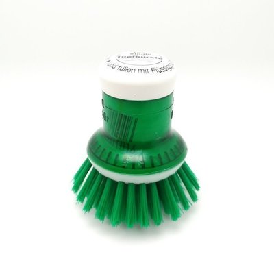 日本 Die ideale Topfburste自動加液洗鍋刷-綠色