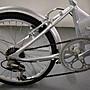 GIANT 捷安特 FD806 鋁合金 銀色 6速 20吋 折疊腳踏車