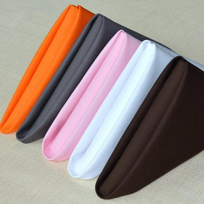 居家家飾設計 餐巾 口布 TC斜紋棉-色系 48*48cm (此為價格含稅賣場)